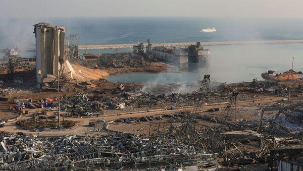 Oštećenja usled eksplozije u Bejrutu - Sputnik Srbija