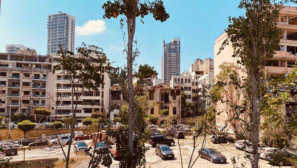 Бејрут након разорне експлозије - Sputnik Србија