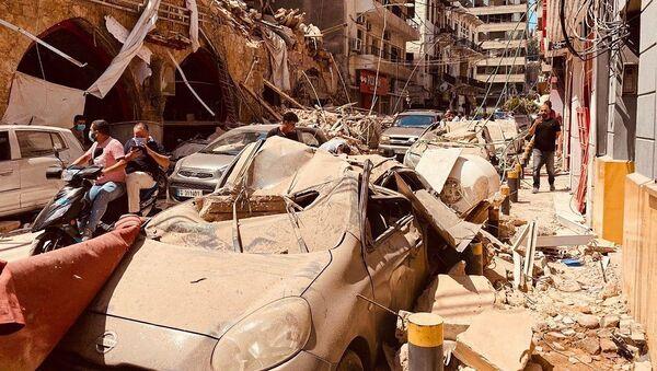 Posledice eksplozije u Libanu - Sputnik Srbija