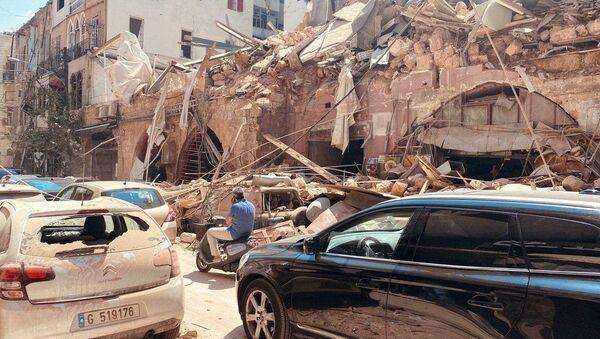Posledice eksplozija u Bejrutu - Sputnik Srbija