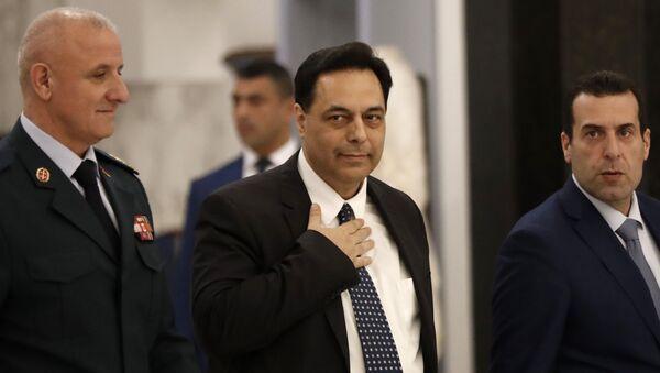 Хасан Дијаб, премијер Либана - Sputnik Србија