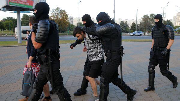 Хапшење у центру Минска - Sputnik Србија