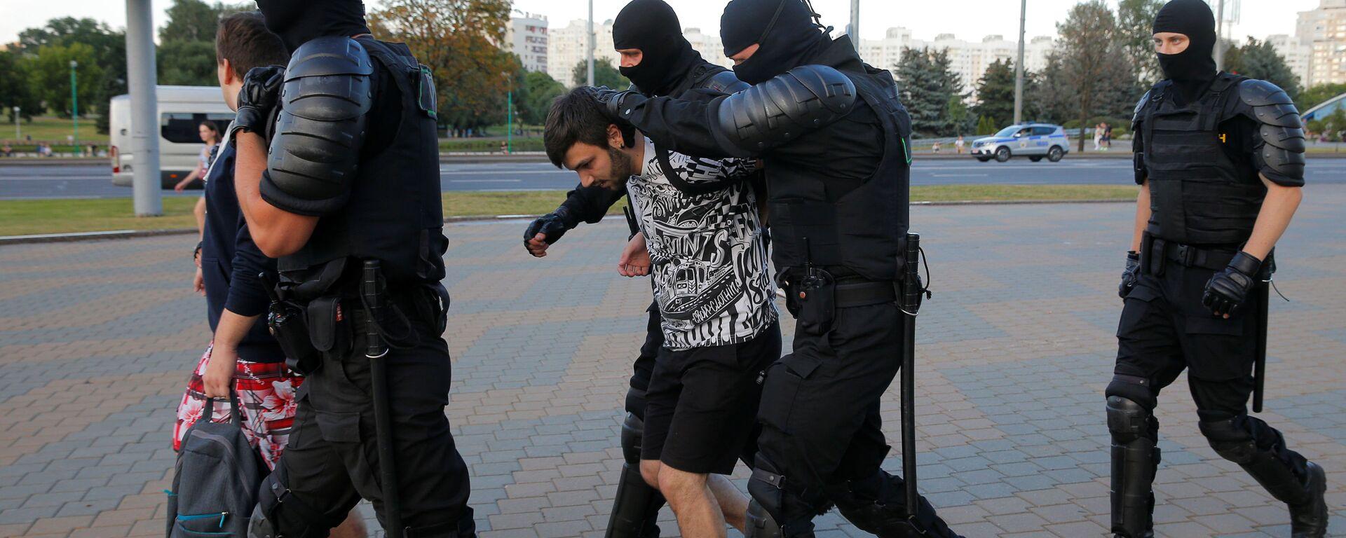 Hapšenje u centru Minska - Sputnik Srbija, 1920, 27.08.2020