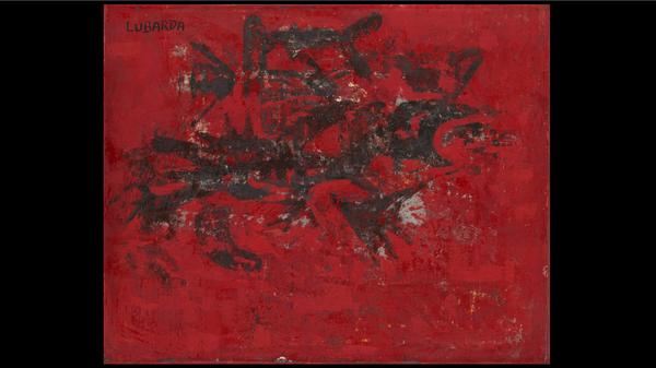 "Петар Лубарда, ""Арабеска на црвеном"", 1961. Из фонда Куће Легата - Sputnik Србија"