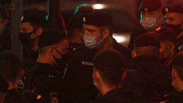 Policija u Moskvi - Sputnik Srbija
