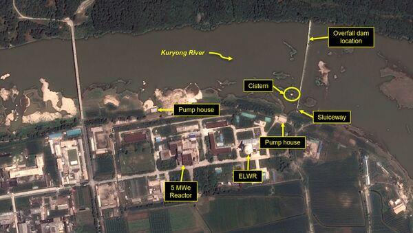 Нуклеарни реактор Јонгбјон у Северној Кореји - Sputnik Србија