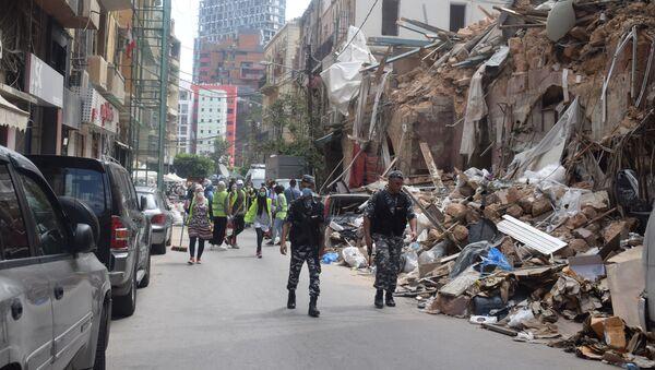 Bejrut u ruševinama nakon eksplozije  - Sputnik Srbija