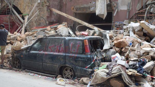 Рушевине у Бејруту - Sputnik Србија