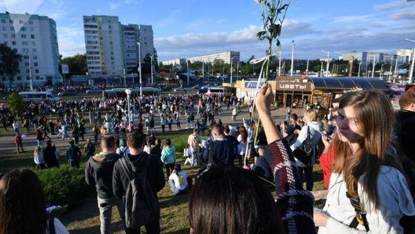 Protesti u Minsku - Sputnik Srbija
