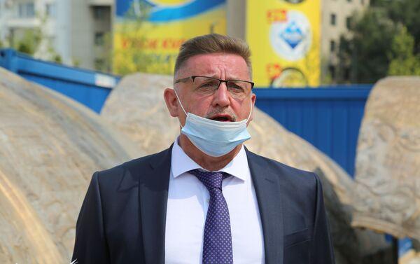 Олег Лашарев, шеф руског тима који ради на подизању споменика - Sputnik Србија
