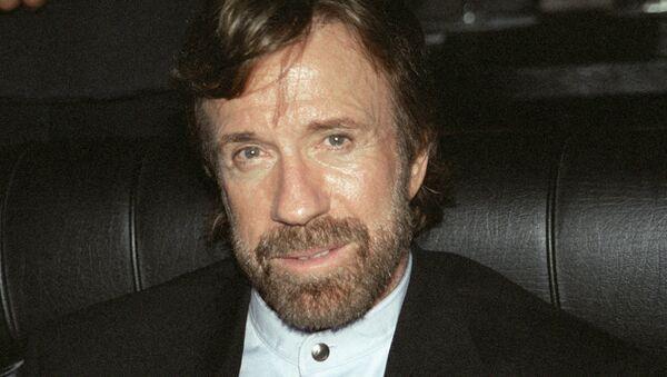 Američki glumac Čak Noris - Sputnik Srbija