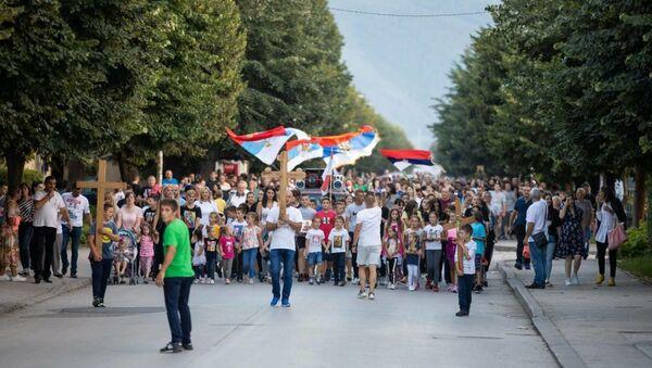 Berane u krsnom hodu - Sputnik Srbija