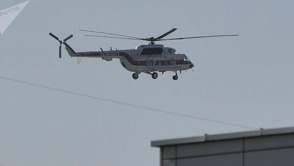 Helikopter predsednika Aleksandra Lukašenka  - Sputnik Srbija