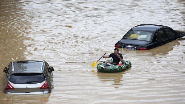 Поплаве у провинцији на југу Кине - Sputnik Србија