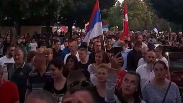 Protestna šetnja u Nikšiću - Sputnik Srbija