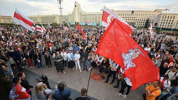 Protest opozicije u Minsku - Sputnik Srbija