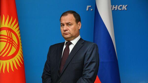 Premijer Belorusije Roman Golovčenko - Sputnik Srbija