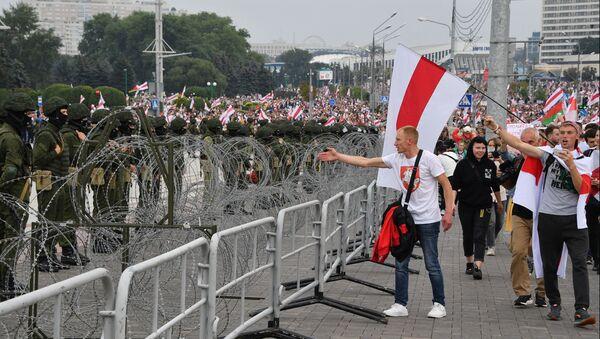 Протести присталица белоруске опозиције у Минску - Sputnik Србија