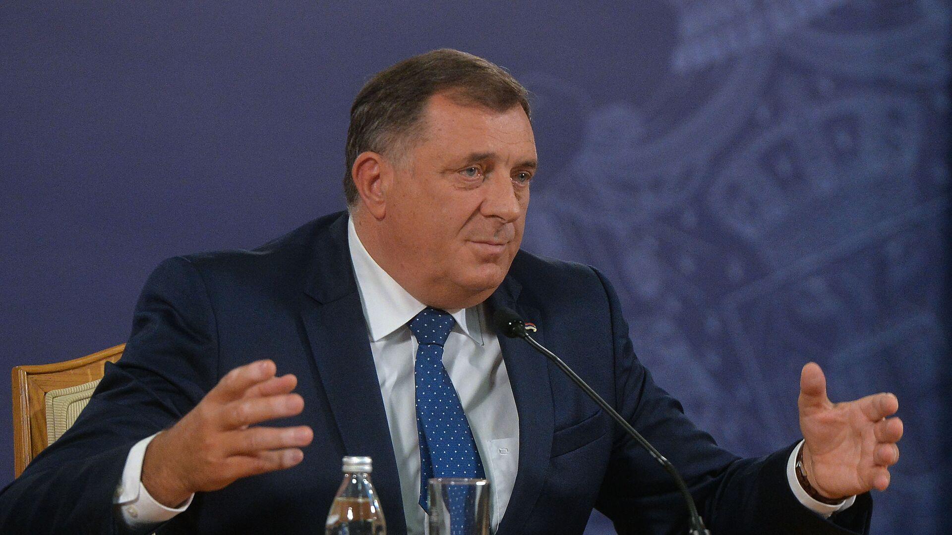 Milorad Dodik - Sputnik Srbija, 1920, 01.08.2021