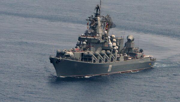 Raketna krstarica Varjag ruske Pacifičke flote - Sputnik Srbija