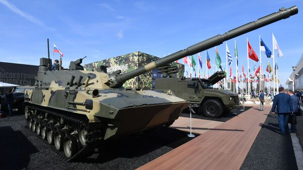 """Laki plutajući tenk """"Sprut-SDM1"""" - Sputnik Srbija"""