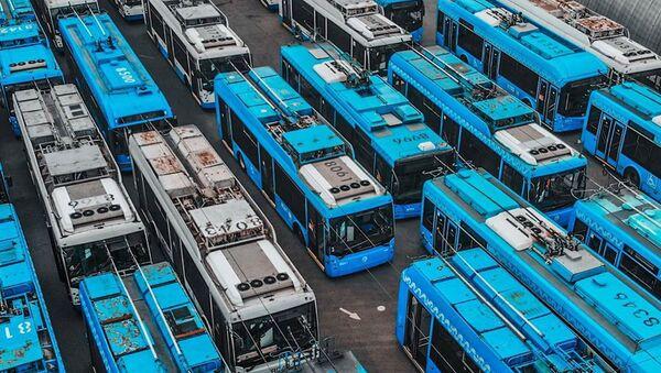 Тролејбуси у Москви одлазе у пензију - Sputnik Србија