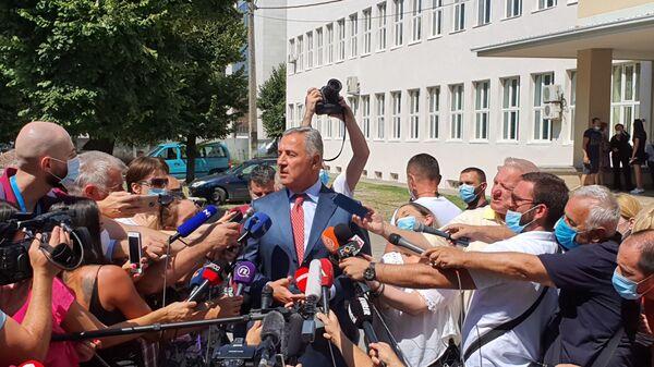 Milo Đukanović glasao na izborima - Sputnik Srbija