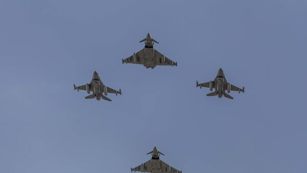Avioni F-16 Baltičke vazdušne policije - Sputnik Srbija