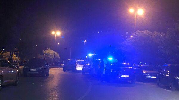 Policija u Podgorici posle izbora - Sputnik Srbija