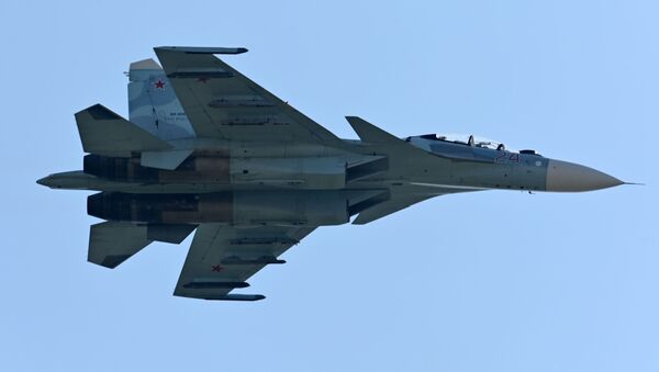 Авион Су-27 - Sputnik Србија