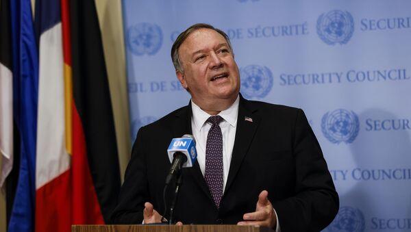 Амерички државни секретар Мајк Помпео - Sputnik Србија