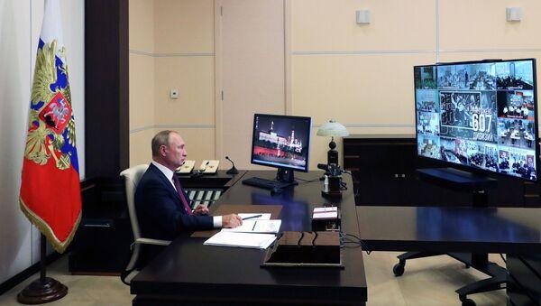 Vladimir Putin učestvuje na otvorenom času Sećati se, znači znati - Sputnik Srbija