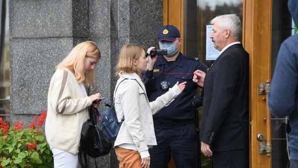 Hapšenje studenata u Minsku - Sputnik Srbija