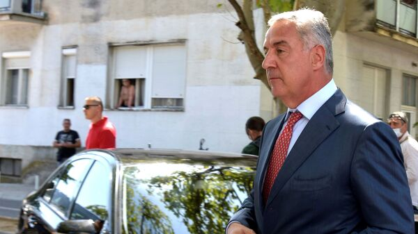 Crnogorski predsednik Milo Đukanović - Sputnik Srbija