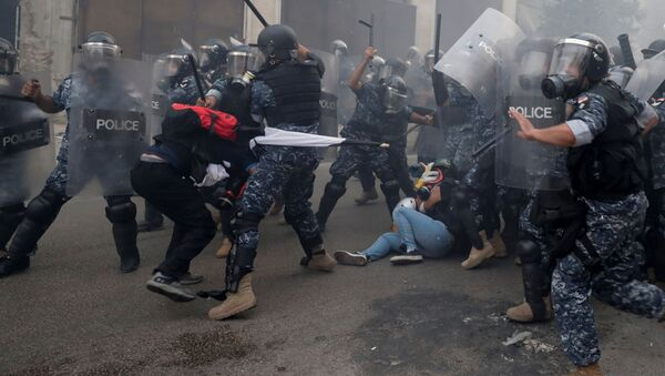 Протести у Бејруту - Sputnik Србија