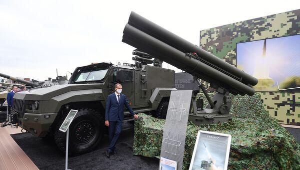Противтенковски ракетни систем Хермес на форуму Армија 2020 - Sputnik Србија