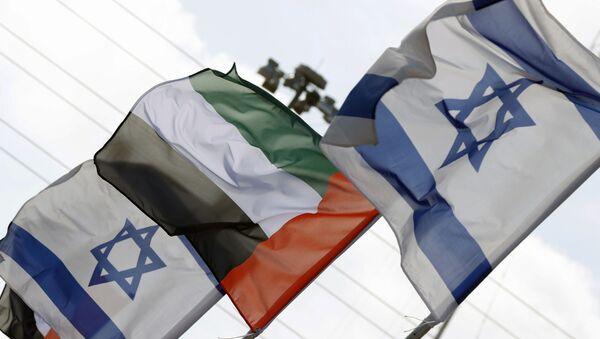 zastave UAE i Izraela - Sputnik Srbija