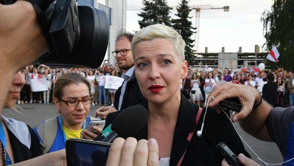 Митинг возле здания Национальной Белтелерадиокомпании в Минске - Sputnik Србија