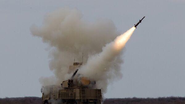Lansiranje sistema Pancir snaga za protivvazdušnu odbranu sirijske vojske - Sputnik Srbija