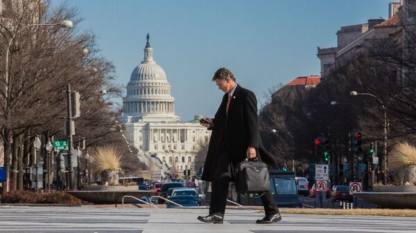 Здание Конгресса США на Капитолийском холме в Вашингтоне - Sputnik Србија