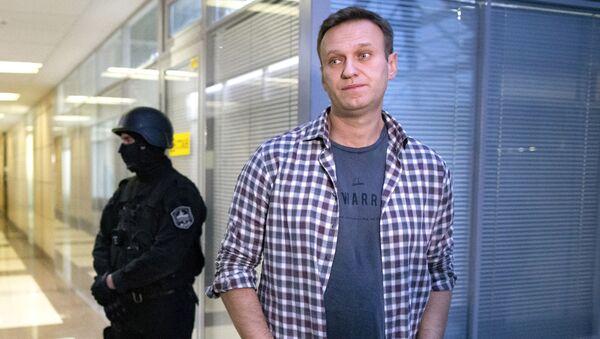 Ruski bloger i lider opozicije Aleksej Navaljni - Sputnik Srbija