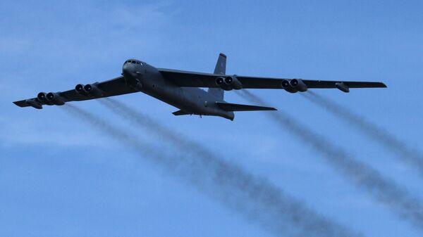 Strateški bombarder Ratnog vazduhoplovstva SAD Boeing B-52H Stratofortress 4 - Sputnik Srbija