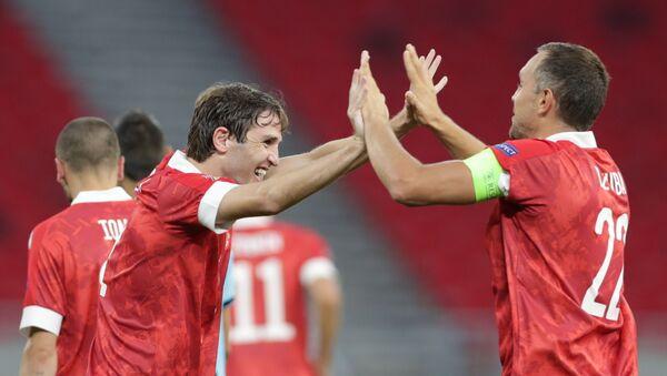 Фудбал лига нација Русија Мађарска - Sputnik Србија