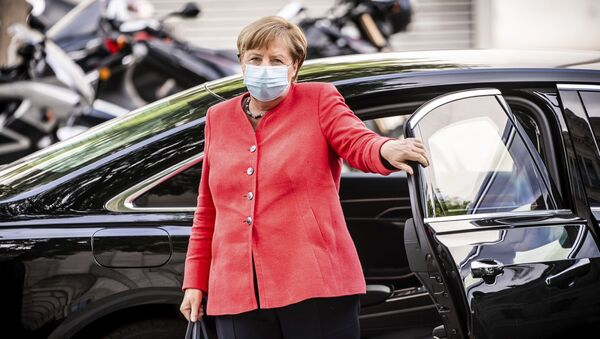Nemačka kancelarka Angela Merkel  - Sputnik Srbija