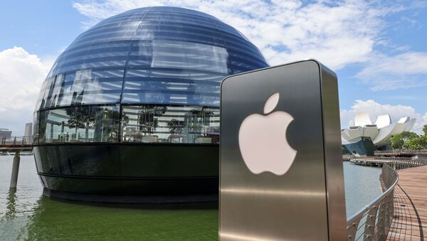 Продавница Епл марина беј сендс у Сингапуру - Sputnik Србија