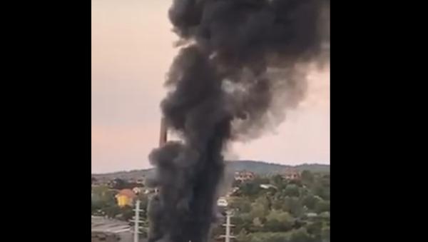 Пожар у Београду - Sputnik Србија