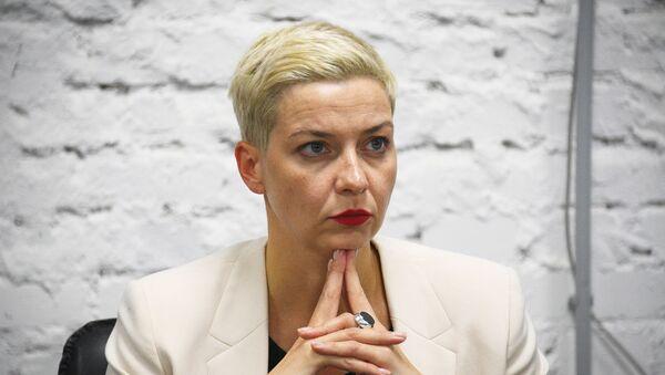 Jedna od lidera beloruske opozicije Marija Kolesnjikova - Sputnik Srbija