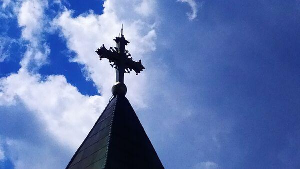 Krst na Crkvi Ružici u Beogradu - Sputnik Srbija