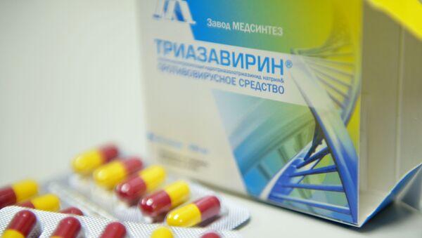 Руски лек Триазавирин - Sputnik Србија