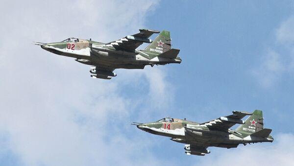 Јуришни авиони Су-25СМ - Sputnik Србија